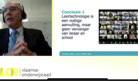 Prof. Daniel Muijs keynote op VLOR-startdag
