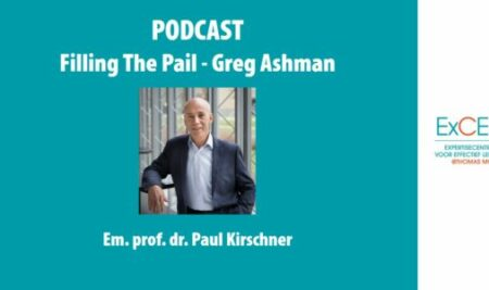 Paul Kirschner op podcast Filling The Pail van Greg Ashman